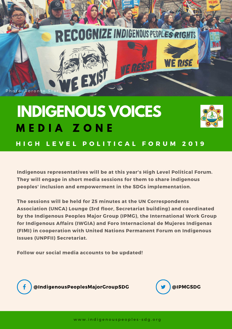 Indigenous Voices | July 16, 2019