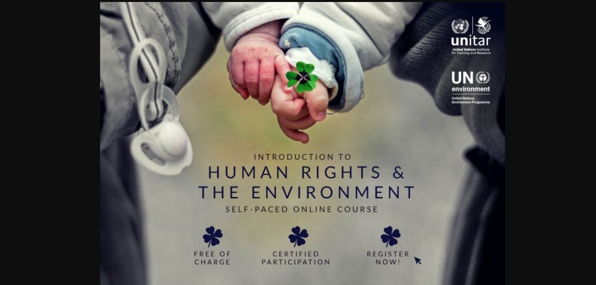 Free online course - Human Rights and the Environment