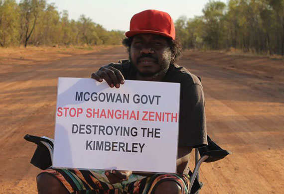 Yakka Munga station blockaded by protesters in fight to protect Kimberley land