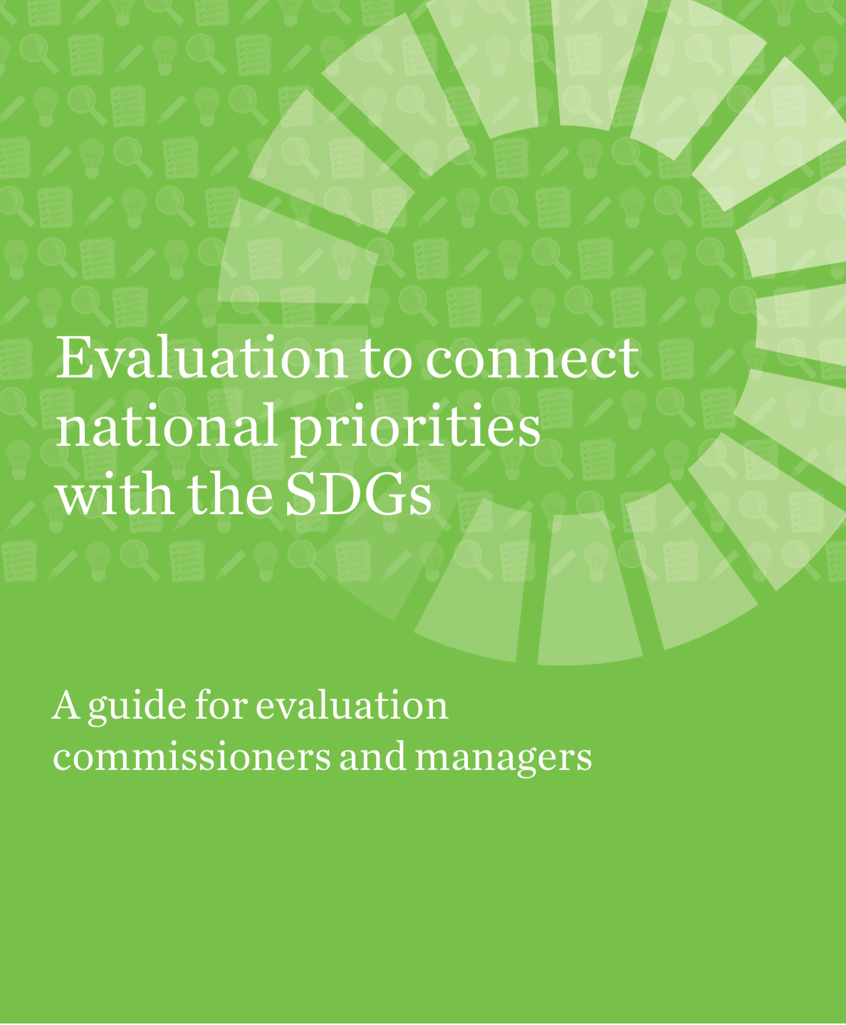 Evaluation to connect national priorities with the SDGs