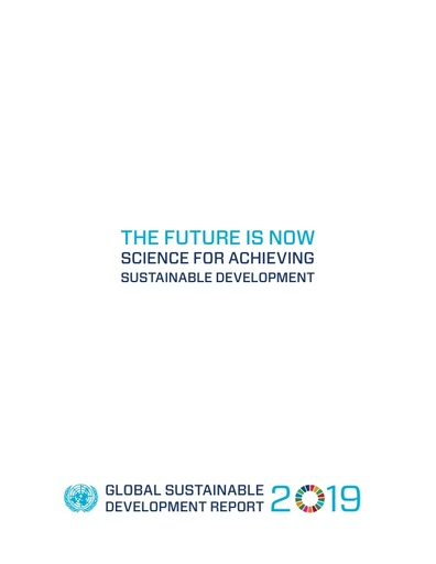 The Future is Now: Science for Achieving Sustainable Development (Global Sustainable Development Report)